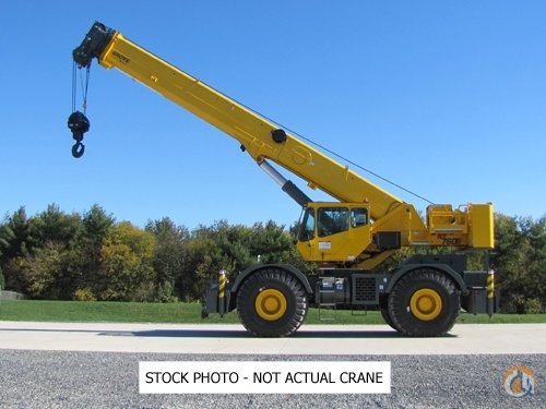 2007 Grove RT760E Crane for Sale in Edmonton Alberta on CraneNetwork.com