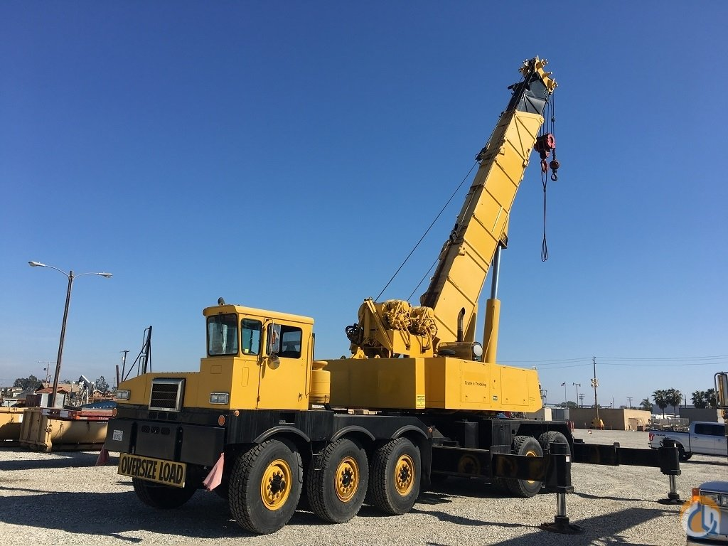 1981 Grove TM875 Hydraulic Truck Pierce Carrier Crane for Sale on  CraneNetwork.com