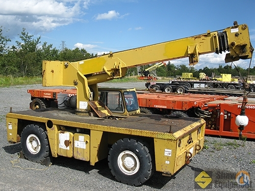 1999 Grove AP408 Crane for Sale in Saint John New Brunswick on CraneNetwork.com