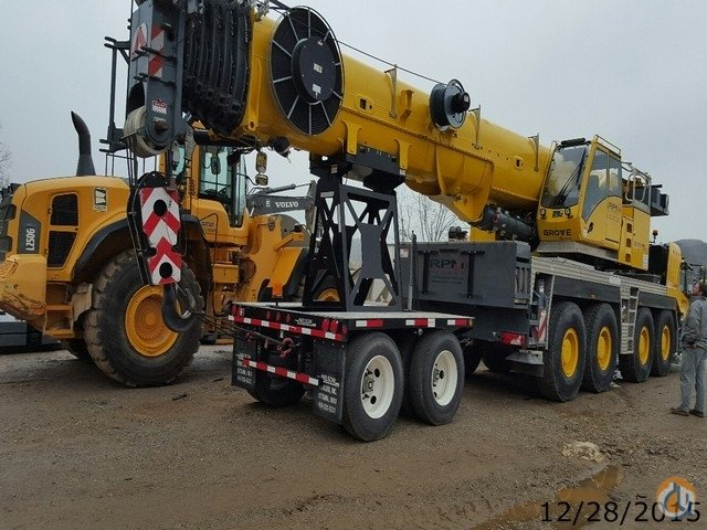 Sold Grove GMK4115L for Sale Crane for  in Birmingham Alabama on CraneNetwork.com