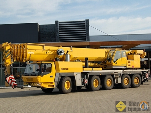 2008 Grove GMK5225 Crane for Sale in Halifax Regional Municipality Nova Scotia on CraneNetwork.com
