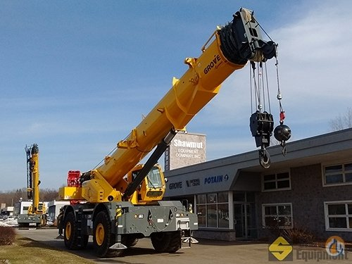 2017 Grove GRT8100 Crane for Sale in Manchester Connecticut on CraneNetworkcom