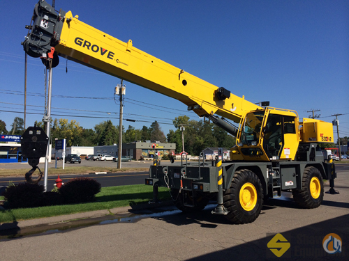 2013 Grove RT530E-2 Crane for Sale in Easton Massachusetts on CraneNetworkcom