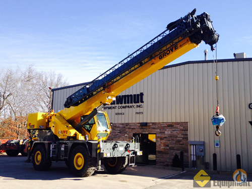 2013 Grove RT540E Crane for Sale in Manchester Connecticut on CraneNetworkcom