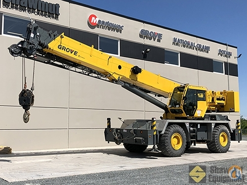 2013 Grove RT650E Crane for Sale in Elmsdale Nova Scotia on CraneNetwork.com