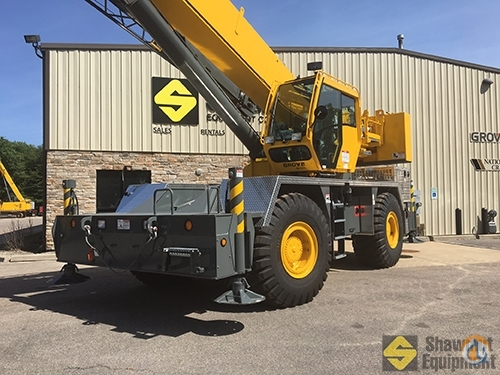 2016 Grove RT650E Crane for Sale or Rent in Easton Massachusetts on CraneNetworkcom