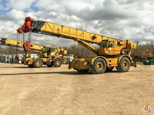 1994 grove rt 760 60 ton rough terrain crane crane for sale on rh cranenetwork com Grove Hydraulic Cranes Grove Crane with Winch