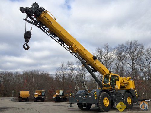 2013 Grove RT880E Crane for Sale or Rent in Manchester Connecticut on CraneNetworkcom