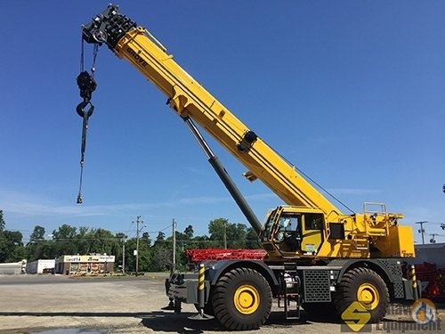 2015 Grove RT890E Crane for Sale in Manchester Connecticut on CraneNetworkcom