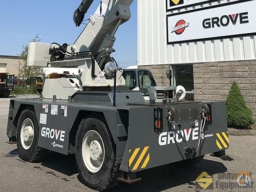 2015 Grove YB5515-2 Crane for Sale in Manchester Connecticut on CraneNetworkcom