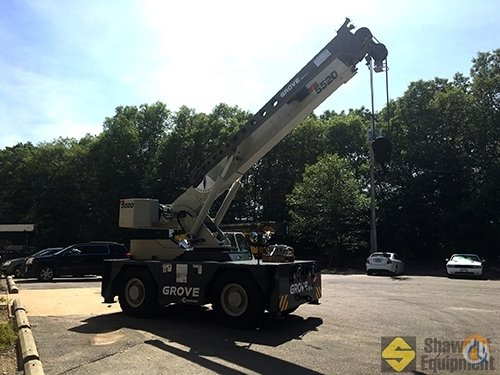 2016 Grove YB5520 Crane for Sale in Easton Massachusetts on CraneNetwork.com