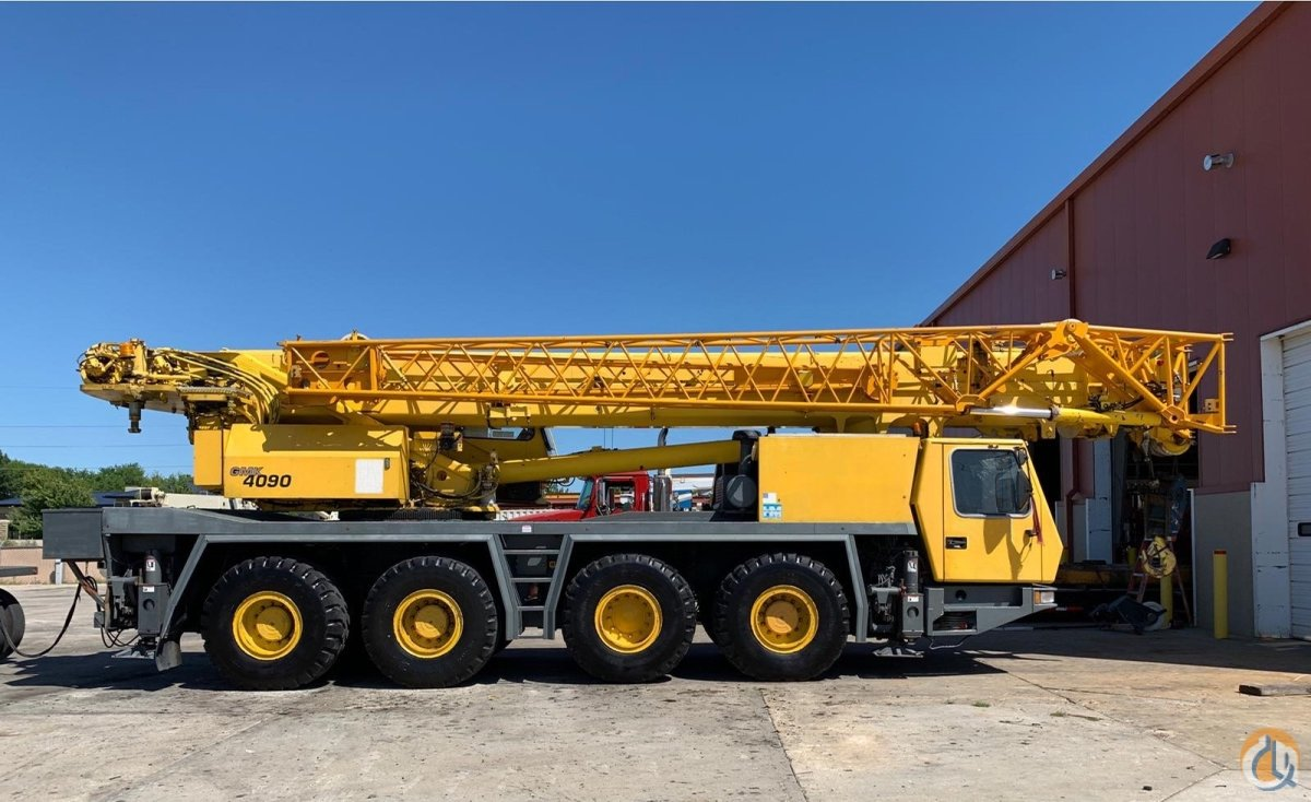 2001 GROVE GMK-4090 Crane for Sale on CraneNetwork.com