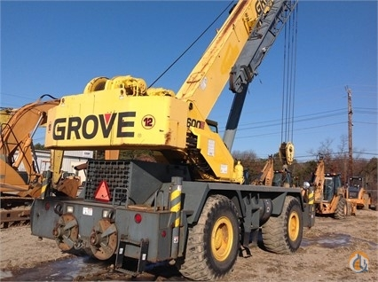 2002 Grove RT650 Crane for Sale in Medford New York on CraneNetwork.com