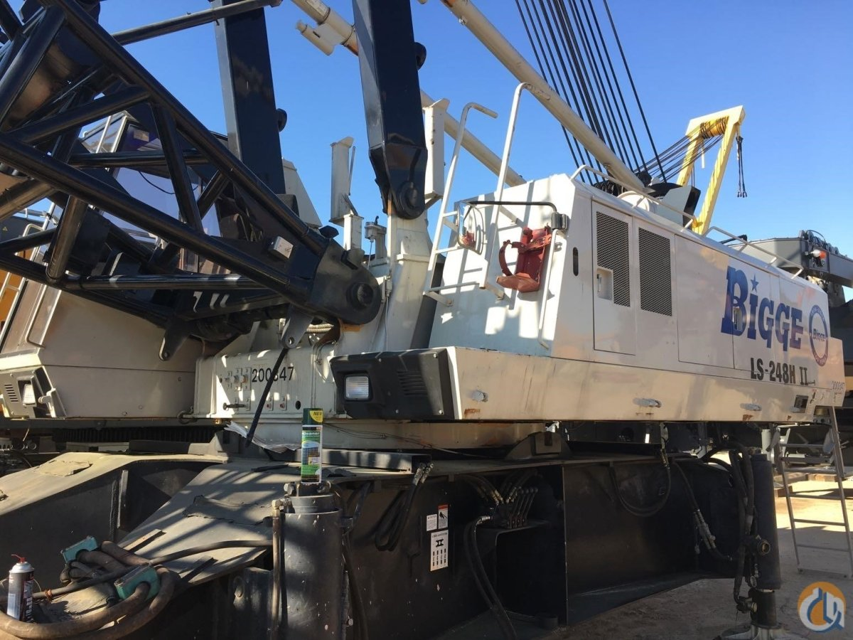 2000 LINK-BELT LS-248H II Crane for Sale in Houston Texas on CraneNetwork.com