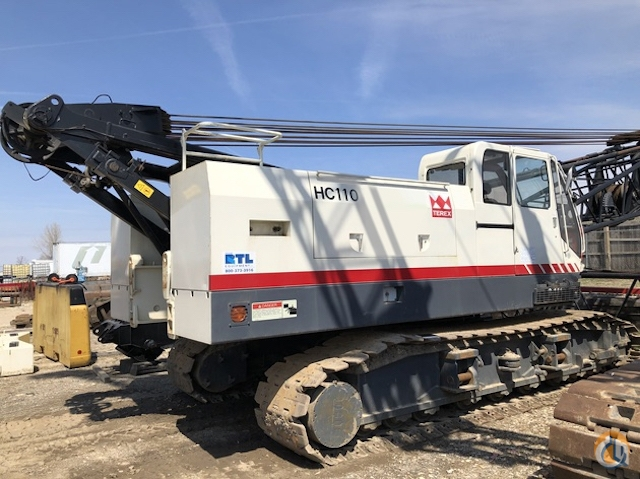 2005 Terex HC110 Crane for Sale on CraneNetwork.com