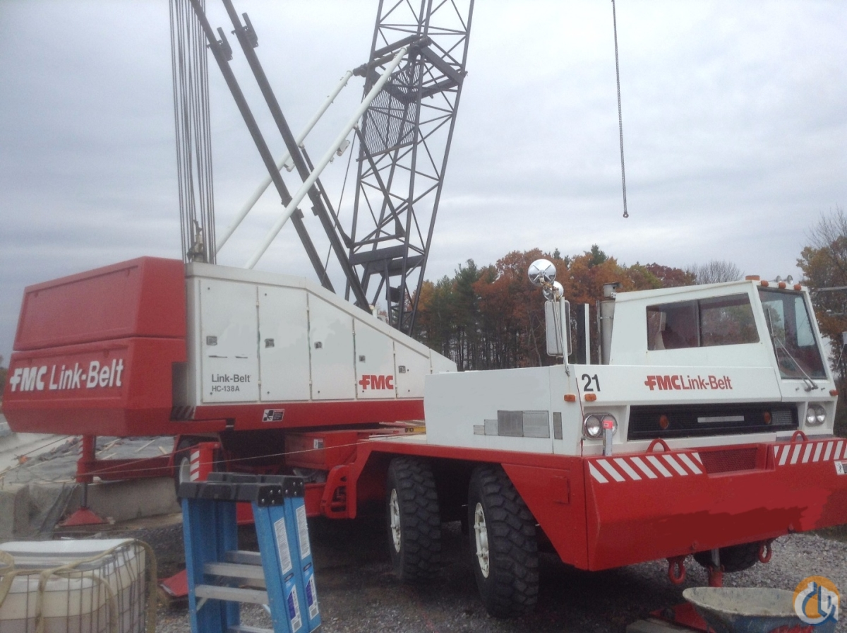 1985 Link-Belt HC138A Now Available Crane for Sale on CraneNetworkcom