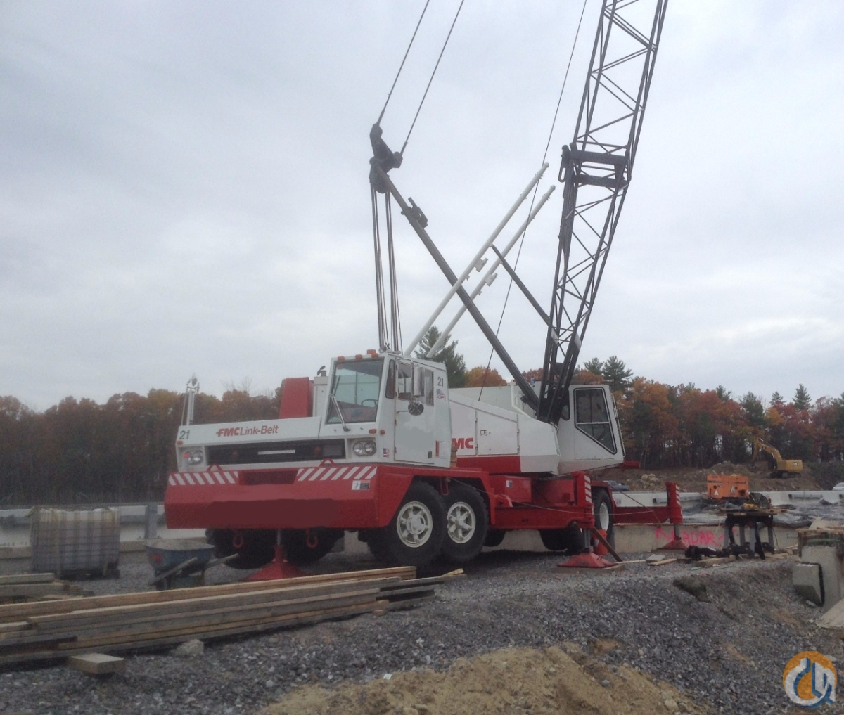 1985 Link-Belt HC138A Now Available Crane for Sale on CraneNetwork.com