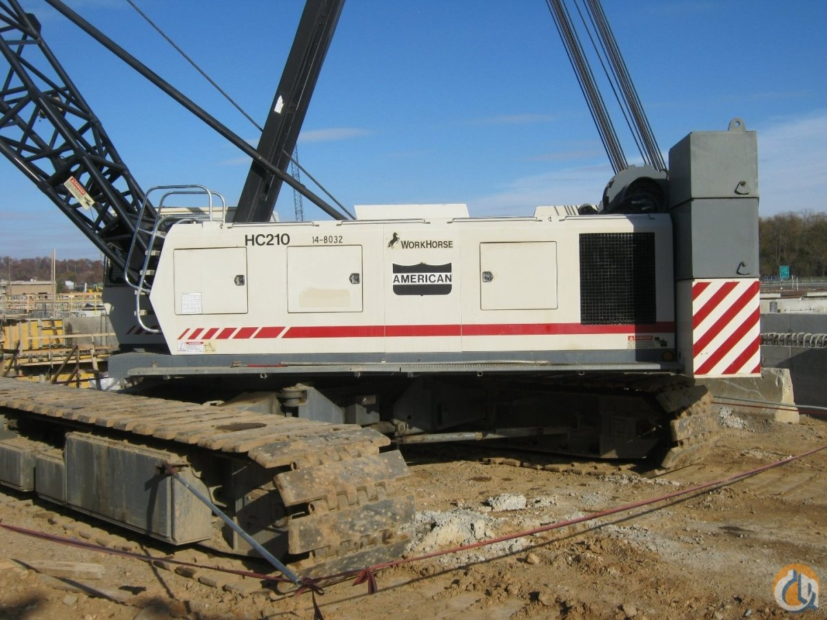 Sold 2003 American HC210 For Sale Crane for  on CraneNetworkcom