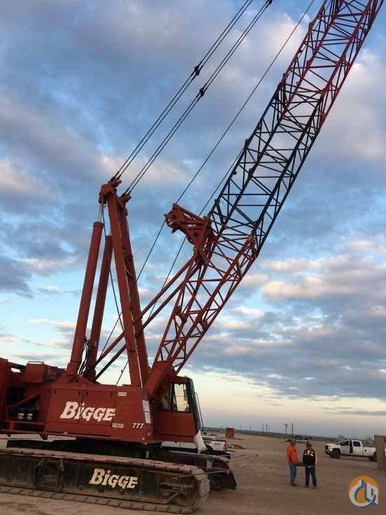 1999 MANITOWOC 777 Crane for Sale in Houston Texas on CraneNetwork.com
