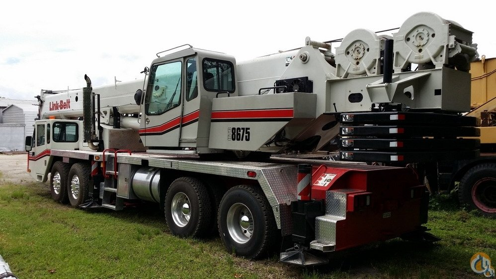 2011 Link-Belt HTC8675SII 75 Ton Hydraulic Truck Crane CranesList ID 273 Crane for Sale on CraneNetwork.com