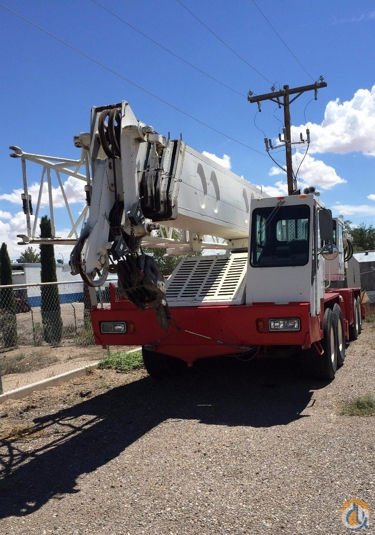 1989 Link-Belt HTC1040 Hydraulic Truck Crane Crane for Sale on CraneNetwork.com