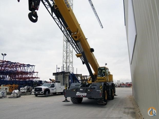 2007 GROVE RT880E Crane for Sale in Houston Texas on CraneNetwork.com