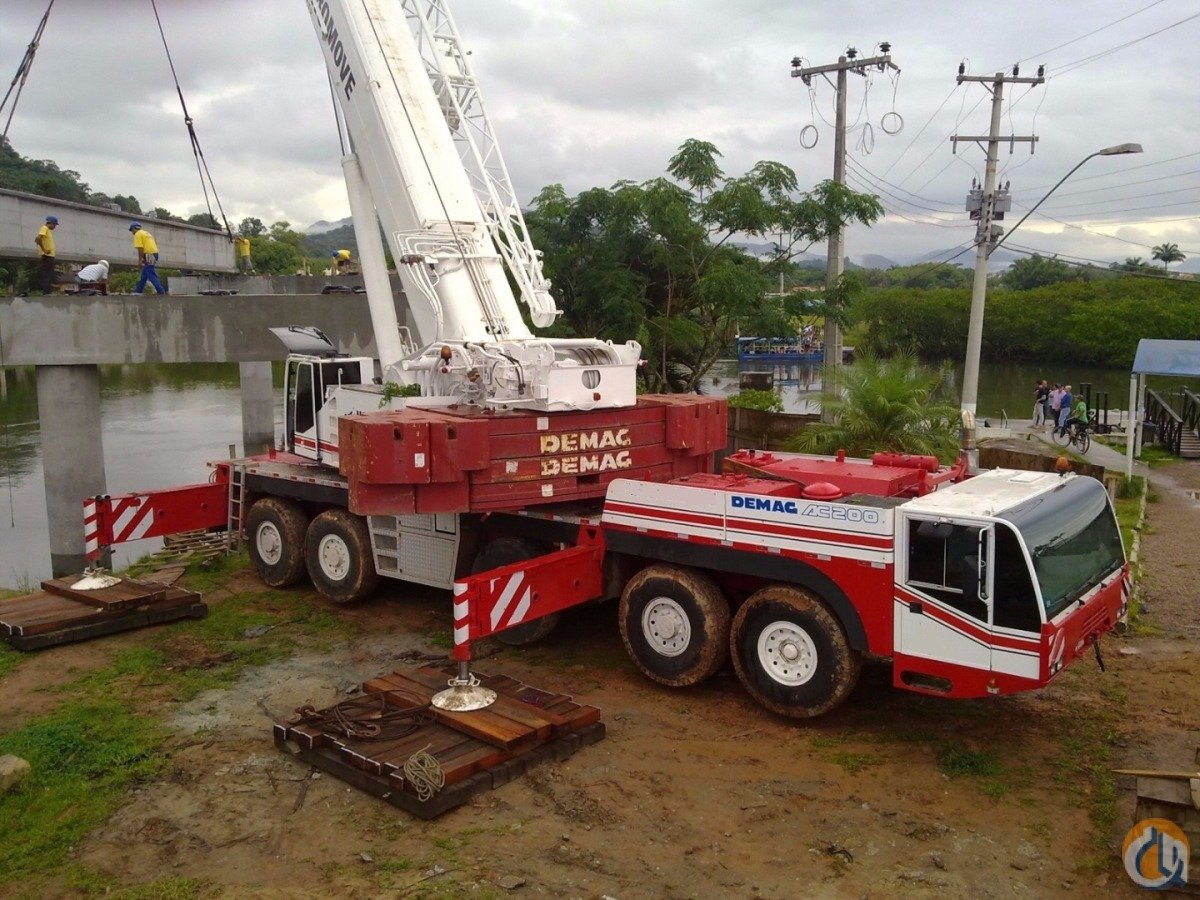 1998 Demag AC 200 Crane for Sale on CraneNetworkcom