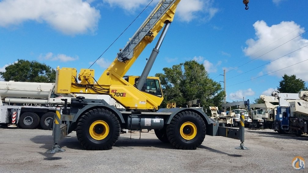 Sold 2005 Grove RT760E Crane for  in Fort Pierce Florida on CraneNetwork.com