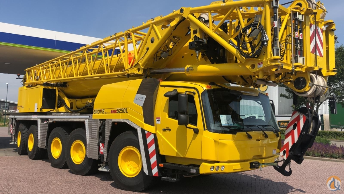 2016 Grove GMK5250L Crane for Sale in Harrisburg Pennsylvania on CraneNetwork.com