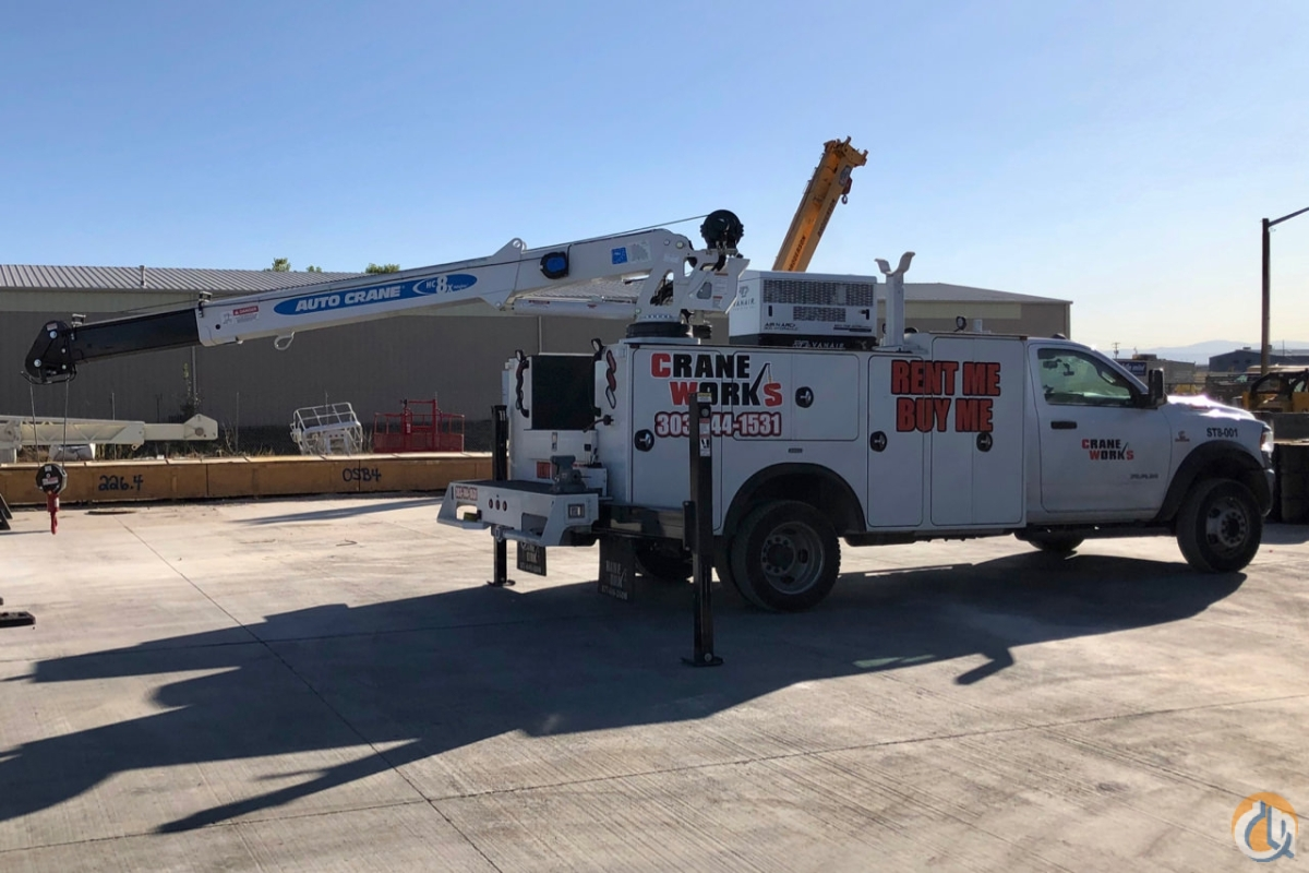 2019 Auto Crane HC-8x with Titan 38 service body mounted to Ram 5500 chassis Crane for Sale or Rent in Brighton Colorado on CraneNetwork.com