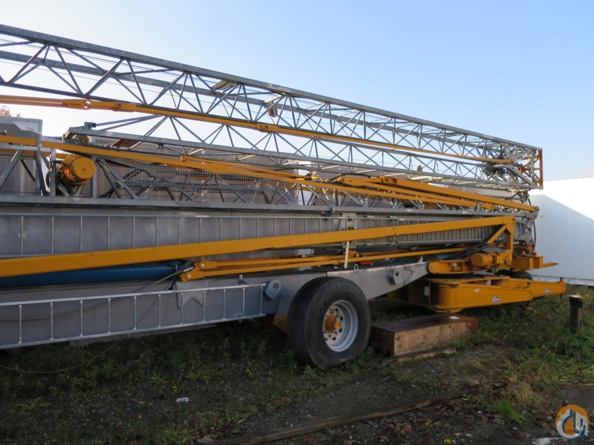 SELF ERECTING TOWER CRANE TRAILER MOUNTED Crane for Sale in New York New York on CraneNetwork.com