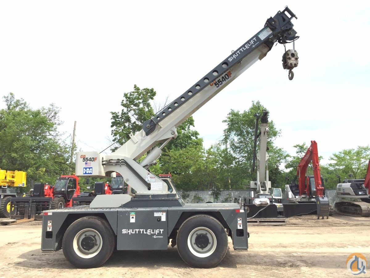 Shuttlelift 5540F Crane for Sale or Rent in Minneapolis Minnesota on CraneNetwork.com