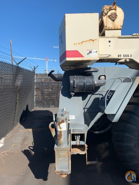 2008 Terex RT555 55 Ton Rough Terrain Crane CranesList ID 364 Crane for Sale on CraneNetwork.com