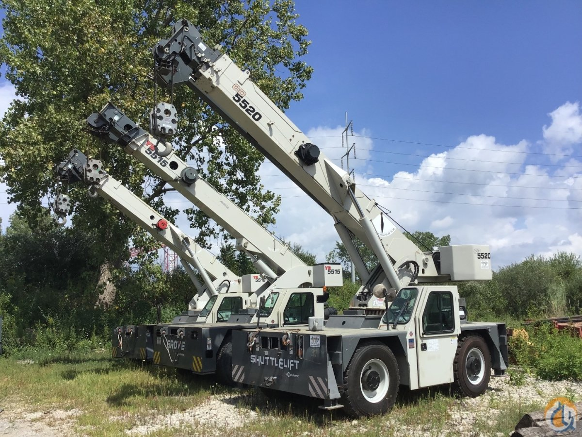 2013 Grove CD 5520 Crane for Sale or Rent in Cleveland Ohio on CraneNetwork.com
