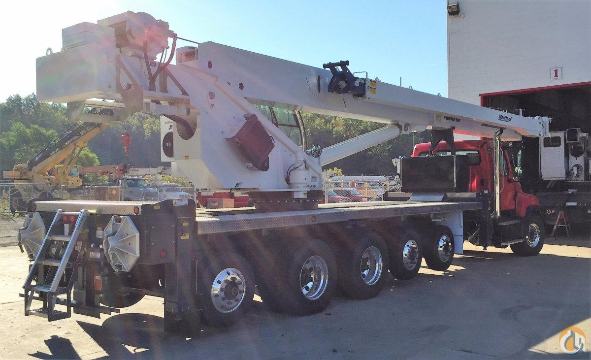 2016 MANITEX 50128S Crane for Sale in Pittsburgh Pennsylvania on CraneNetwork.com