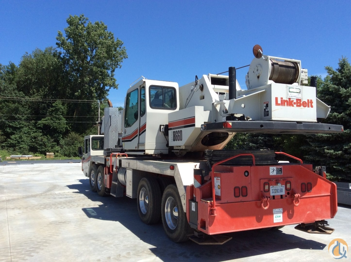 2008 Link-Belt HTC-8660 Series II Crane for Sale on CraneNetwork.com