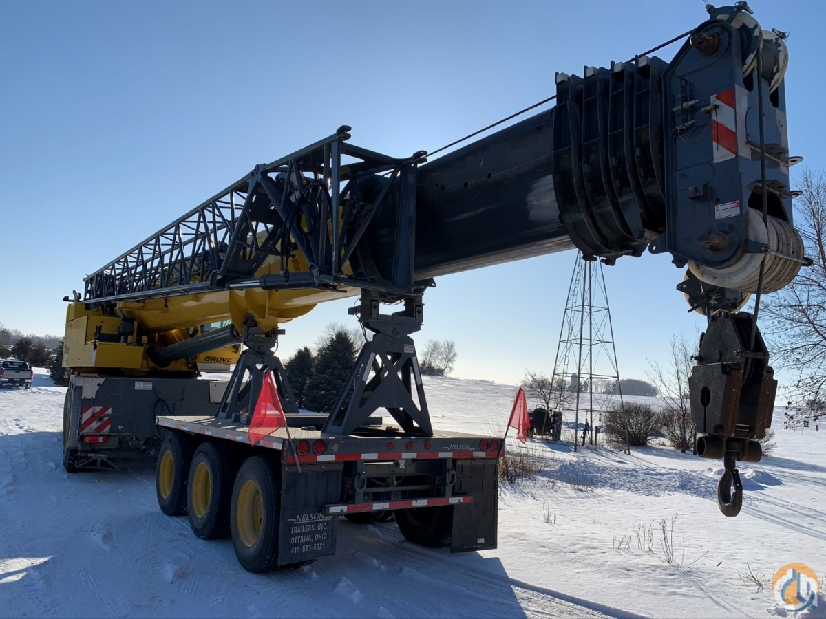 2007 Grove GMK 5165 Mobile Crane Crane for Sale in Cannon Falls Minnesota on CraneNetwork.com
