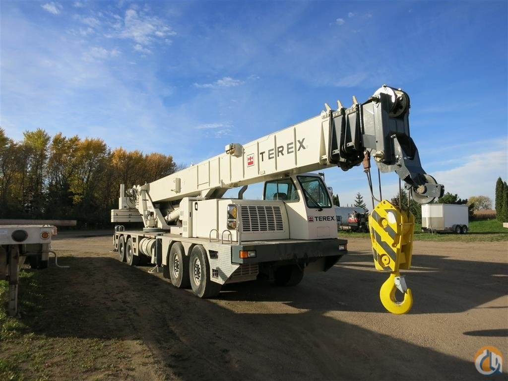 2013 Terex T780 Crane for Sale in Henderson Minnesota on CraneNetwork.com