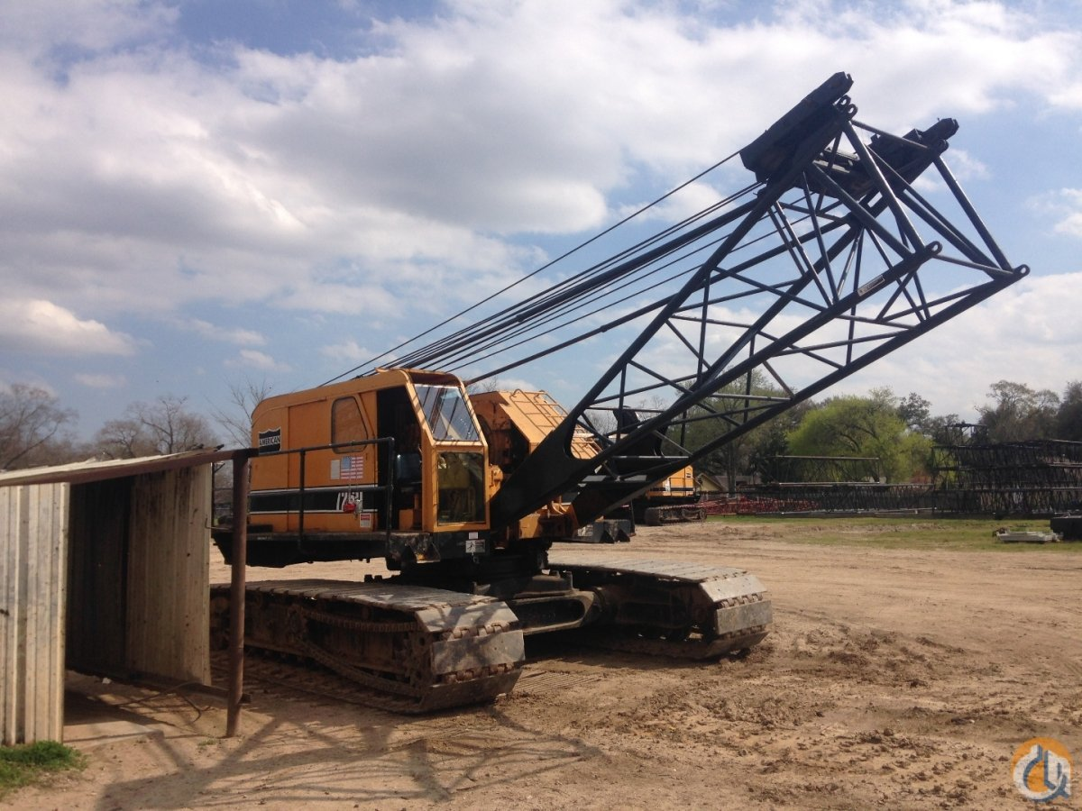 American 7260 Crawler Lattice Boom Cranes Crane for Sale 1979 AMERICAN 7260 CRAWLER CRANE in Houston  Texas  United States 211159 CraneNetwork