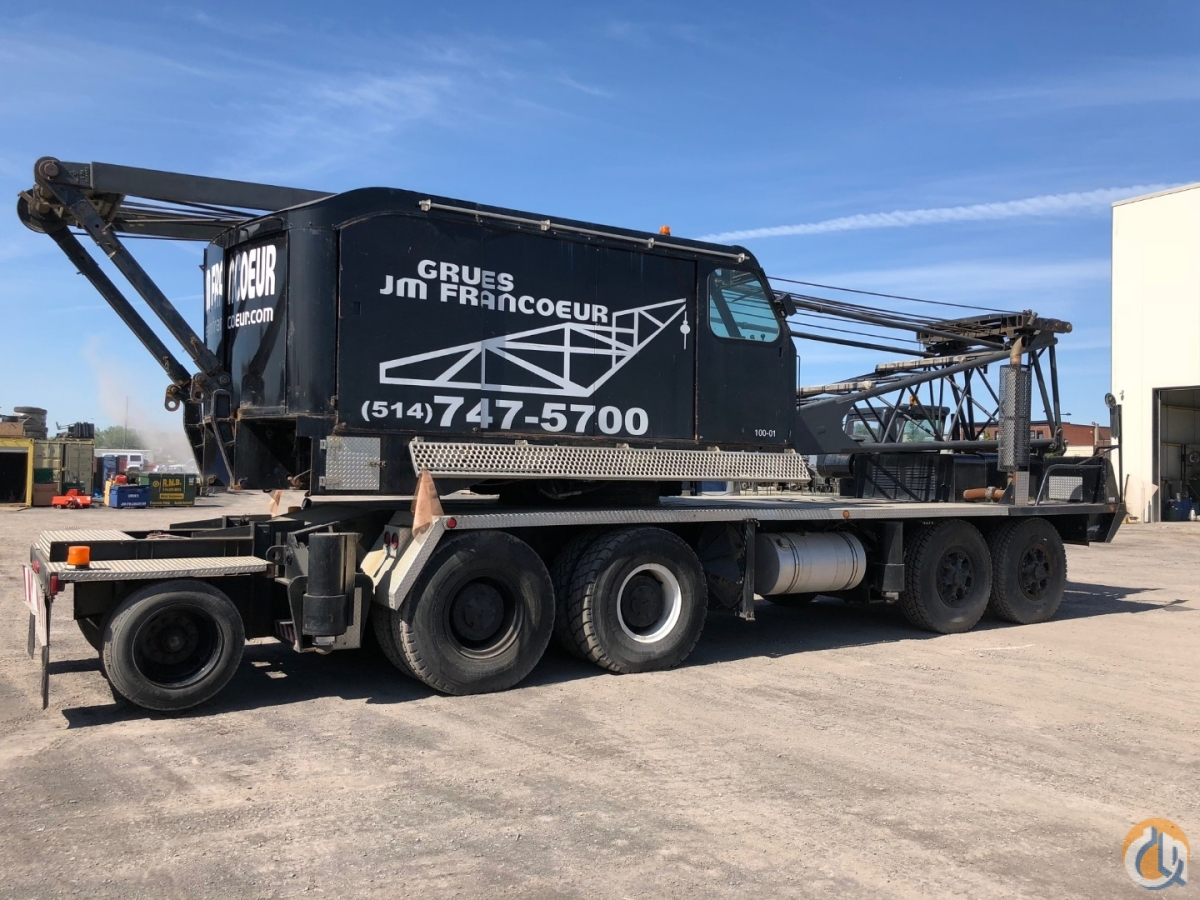 100-01 Crane for Sale in Montreal Quebec on CraneNetwork.com