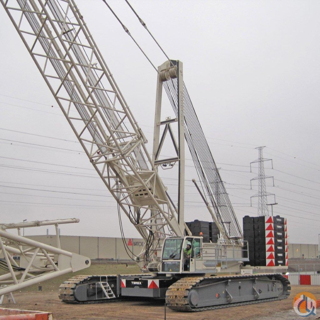 Terex-Demag CC2400  440T For Sale or Rent RPO Crane for Sale on CraneNetwork.com
