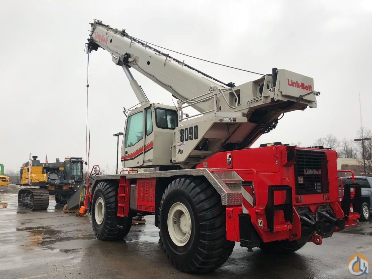 Sold 2016 Link-Belt RTC 8090 SII LOADED READY TO WORK Crane for  in Lyon Charter Township Michigan on CraneNetwork.com