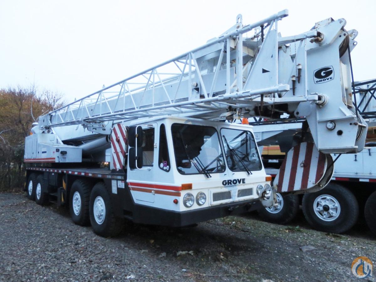 Grove Tm 750e Crane For Sale On