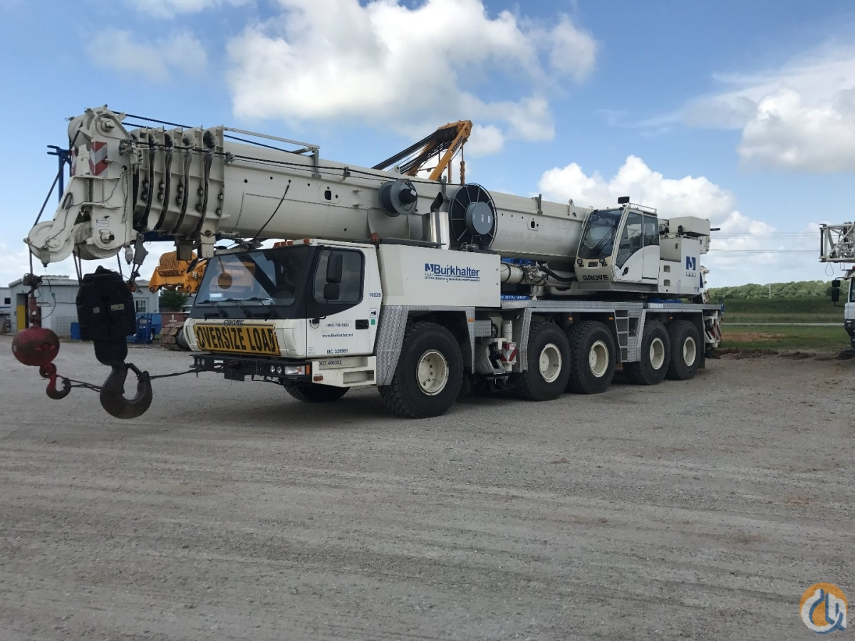 Grove Crane for Sale in Columbus Mississippi on CraneNetworkcom