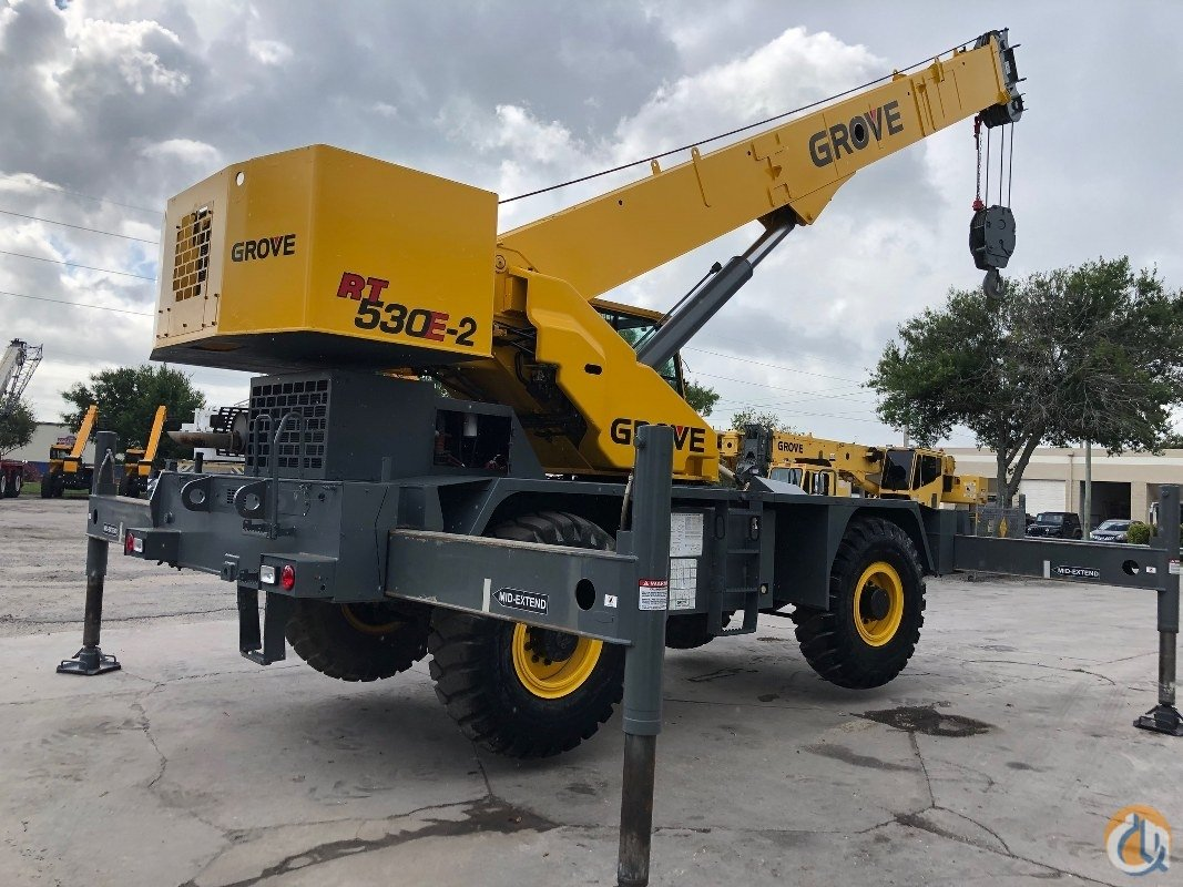2009 Grove RT530E-2 Crane for Sale or Rent in Fort Pierce Florida on CraneNetwork.com