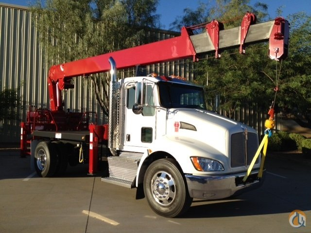 NEW 2018 KENWORTH with 84 FT. TIP HEIGHT and REARMOUNTED Crane for Sale or Rent in Phoenix Arizona on CraneNetwork.com