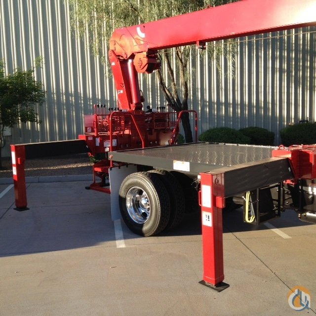 NEW 2018 KENWORTH with 84 FT TIP HEIGHT and REARMOUNTED Crane for Sale or Rent in Phoenix Arizona on CraneNetworkcom