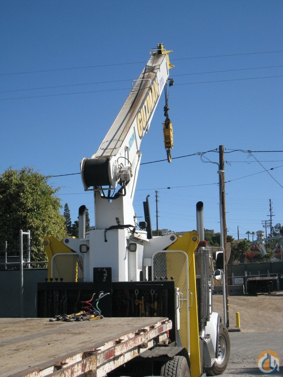 2007 Manitex-Peterbilt 2250 22 Ton Boom Truck CranesList ID 376 Crane for Sale on CraneNetwork.com