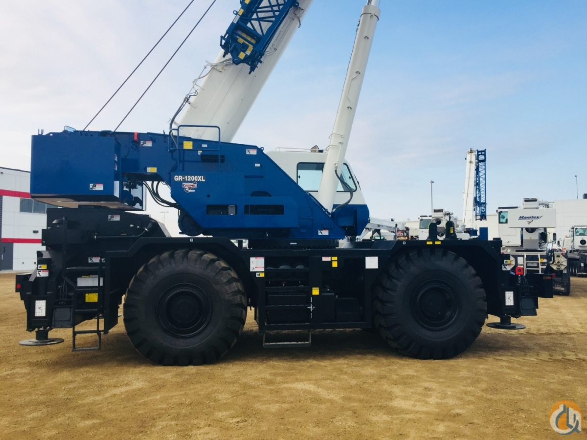 2018 TADANO GR1200XL-3 Crane for Sale or Rent in Oakville Ontario on CraneNetwork.com