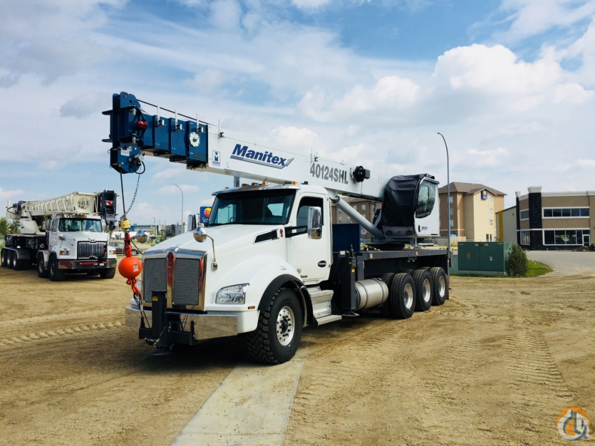 2018 MANITEX 40124SHL Crane for Sale or Rent in Nisku Alberta on CraneNetwork.com